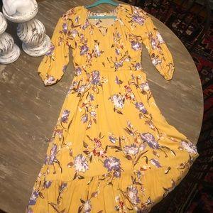 Orange Creek maxi dress